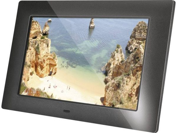 Braun Germany DigiFrame 720 Digitale fotolijst 17.8 cm 7 inch 1024 x 600 pix Zwart