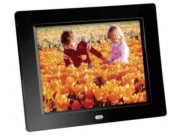 Braun Germany DigiFrame 82 Digitale fotolijst 20.3 cm 8 inch 1024 x 768 pix Zwart