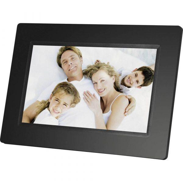 Braun Phototechnik Digitale fotolijst 17.8 cm 7 inch 800 x 480 Pixel Zwart