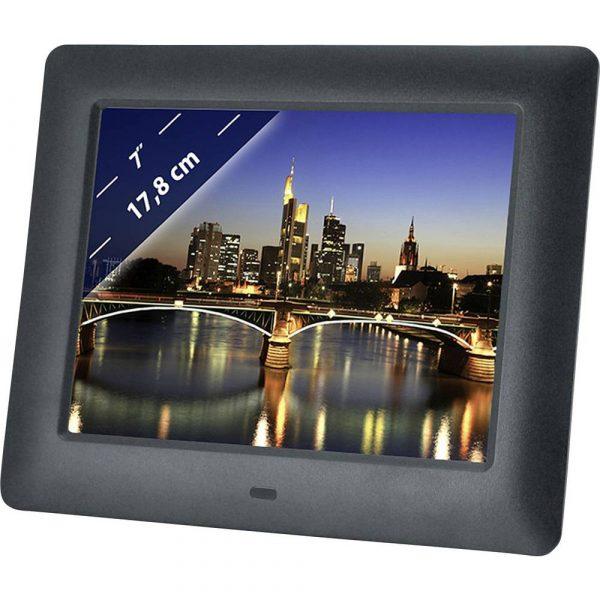 Braun Phototechnik DigiFrame 7060 Digitale fotolijst 17.8 cm 7 inch 800 x 600 Pixel Zwart
